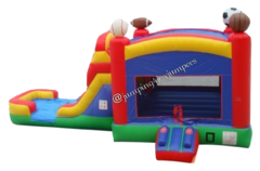 Sports Combo with Slide & Concession