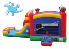 Sports Combo with Wet Slide & Concession