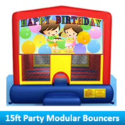 Happy Birthday boy and girl Modular 15ft