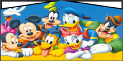 Modular Mickey Mouse Club House banner
