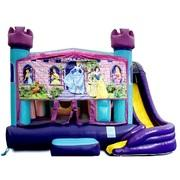 Princess Theme 5 in 1 Combo Slide Water Slide