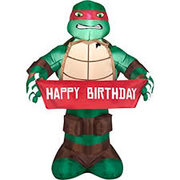 Teenage Mutant Ninja Turtles Raphael Happy Birthday