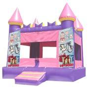 Baby Shower Pink Castle 13ft