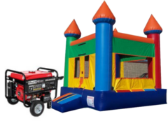 Park Package Castle Jump House with Generator