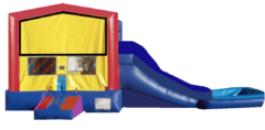 WC- Jump House Combo Waterslide