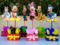 Mickey Mouse Club Table Center Pieces