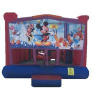 Mickey Mouse Mini Obstacle   Bounse House