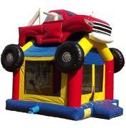 Monster Truck Inflatable Bounce House