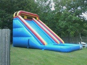 24' Ft. Extra Large Classic Waterslide