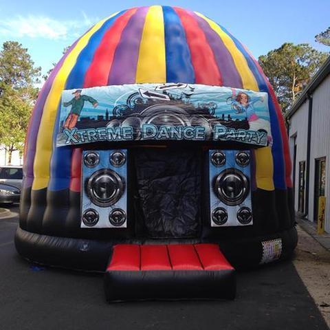 Extreme Dance Party Disco Dome Bounce House NEW
