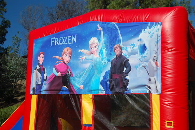 Frozen Module 5 in 1 Waterslide Bouncehouse Combo