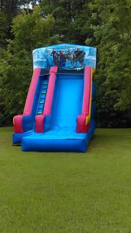19' Frozen Water Slide
