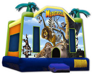 Madagascar Bounce House