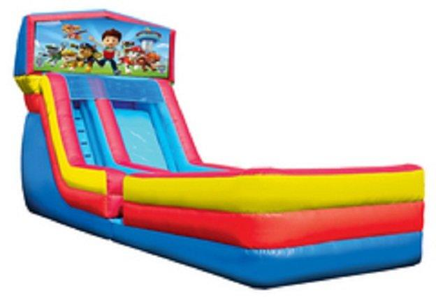 19' Ft. Paw Patrol Water Slide