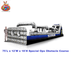 80' Special Ops Obstacle Course Extremely Large