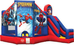 Large Spiderman 5 in 1 3D Combo w/slide