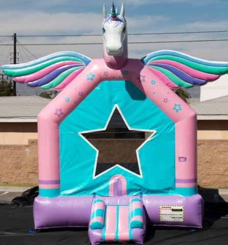 * Sparkle Unicorn Pony 3D Bounce House *NEW