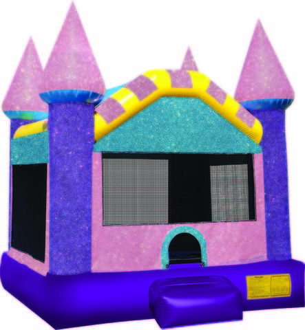 Glitter Dazzling Castle Jump Bounce House *NEW*