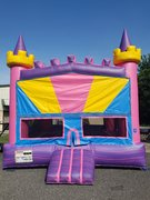 * Cotton Candy Swirl Castle Bounce House *NEW