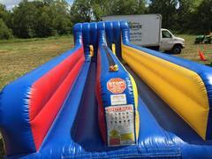 Dual Lane Bungee Run Bounce House