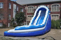 18 Ft. Curve Water Slide Wet / Dry