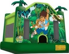 Go Diego Tropical Bounce House