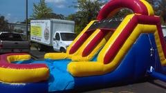 15ft Dual Splash Water Slide / Dry Slide