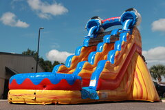 22' Ft Ultra Bucket Splash Falls Water Slide *NEW
