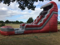 18' Ft Red Hot Lava Water Slide *NEW