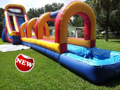 60Ft Long 22' Ft High Extra Large Slip N Dip Combo w / Slipe N' Slide