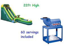 22 Ft Screamer Water Slide Cool Down Deal