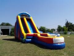 22' Ft Big Red Slip n Dip Water Side W/Pool
