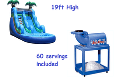 19 Ft Tropical Water Slide Cool Down Deal