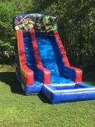 19' Ninja Turtles Water Slide