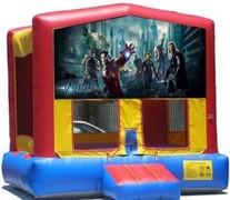 The Avengers Bounce House