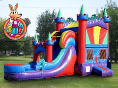 Castle Module Water Slide 5 in 1 Combo