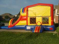 Classic Module 5 in 1 Waterslide / Dryslide Bouncehouse Combo