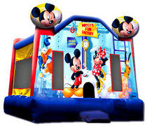 Mickey Mouse Bounce House 2