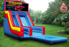 19' Spiderman Water Slide