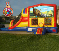 Noahs Ark Module 5 in 1 Waterslide Bouncehouse Combo