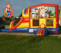 Toy Story Module 5 in 1 Waterslide Bouncehouse Combo