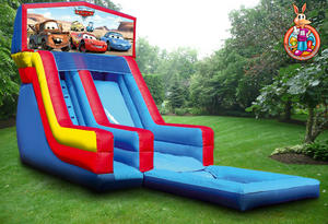 19' Disney Cars Water Slide
