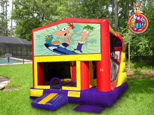 Phineas & Ferb 5 in 1 Combo w/ Slide