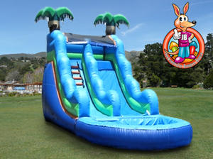 19' Ft. Large Tropical Waterslide