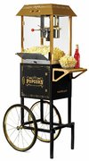 Classic popcorn Cart 10 Oz  with Supplies