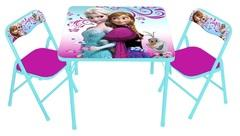 Disney Frozen Table (1) Chairs (4) Set