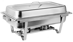 Chafing Dish 8 Qt.  with 2 x 2 hour Fuel