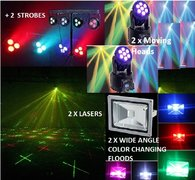 Deluxe Party Lighting Package