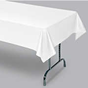 Table Cover Plastic - Fits 6 ft Table