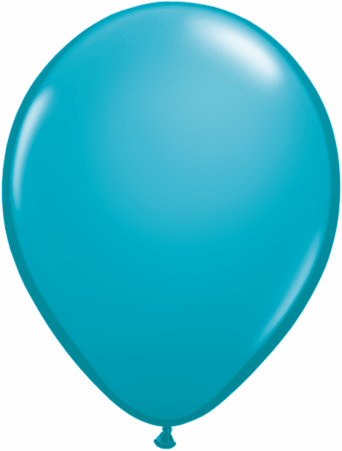 Latex 11inch Turquoise Blue Balloons